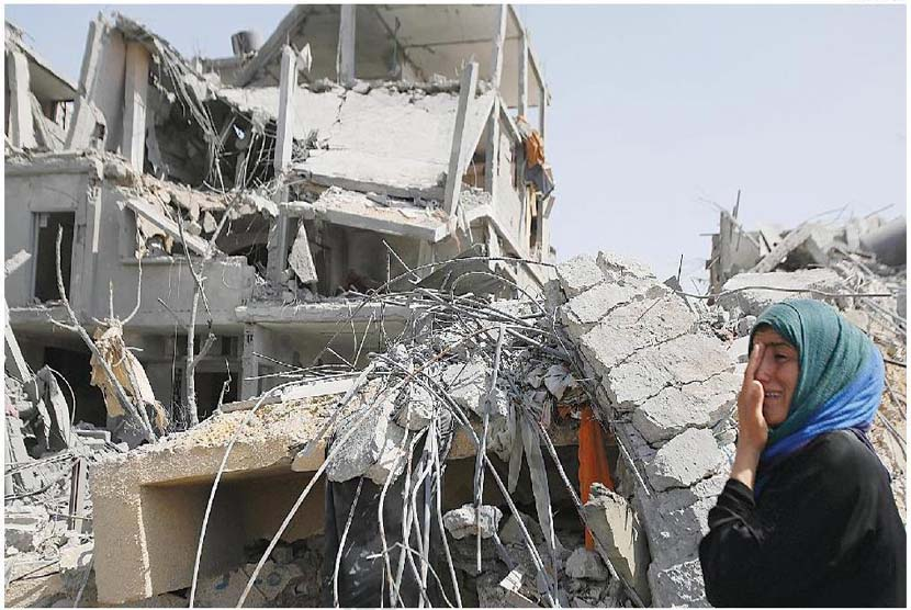 Israel Bombardir Rumah, 36 Warga Palestina Jadi Tunawisma
