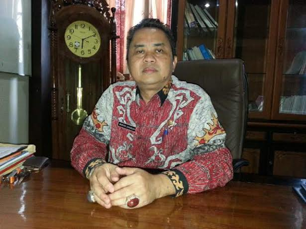 Kepala Disdikpora Lampung Timur, Merah Juansyah. | Parman/Jejamo.com