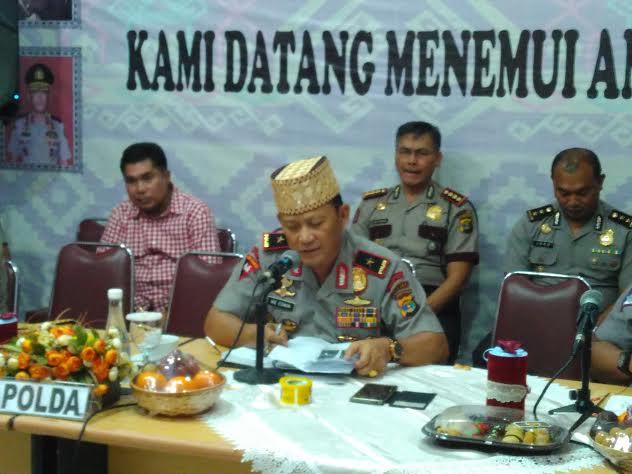 Lagi, Kapolda Buka Layanan Pengaduan di Lapangan Saburai Bandar Lampung