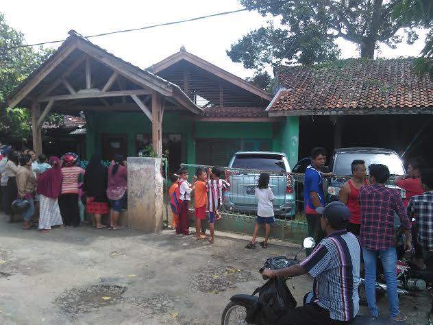 Kediaman tersangka pelaku penganiayaan pada anak tiri di Kemiling Bandar Lampung. | Andi Apriyadi/Jejamo.com