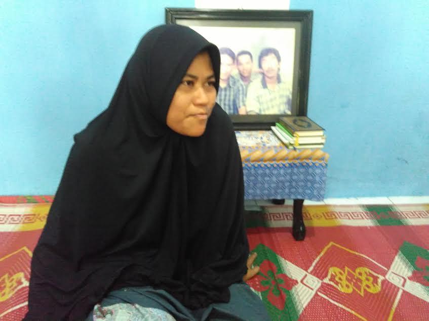 Lina Herayati, adik Almarhum Kolonel Inf Hery Setiady. | Andi/Jejamo.com