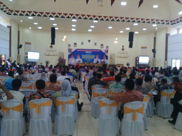 Suasana Musrenbang Kabupaten Lampung Timur.