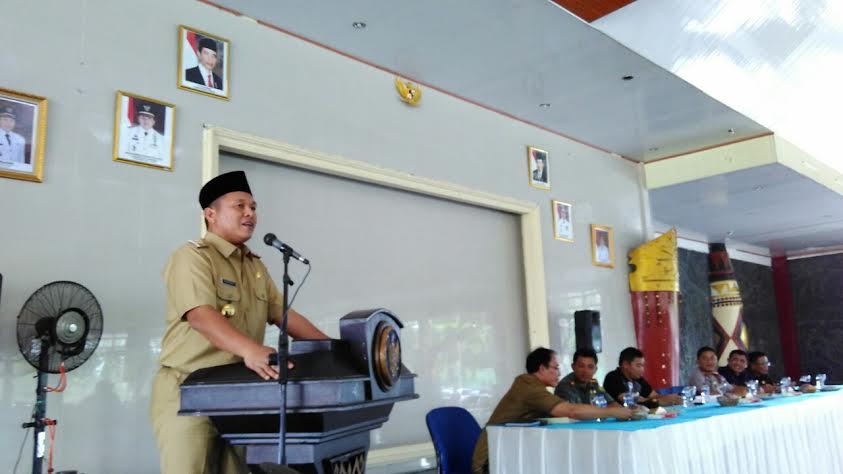 Bupati Lampung Utara Buat Perbup Dukung Swasembada Padi Lampung