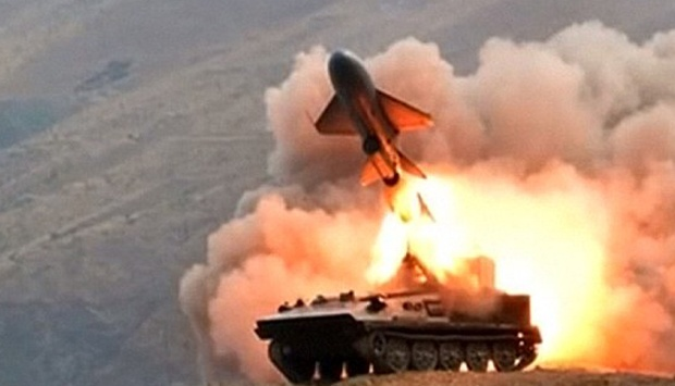 Serangan rudal Korea Utara (Ilustrasi). | Ist.