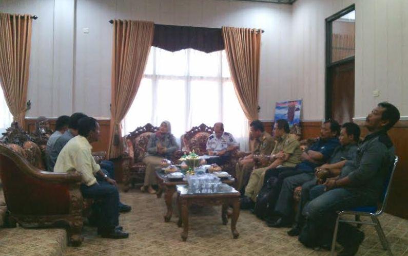 Bupati Minta Media Kawal Pembangunan di Lampung Timur