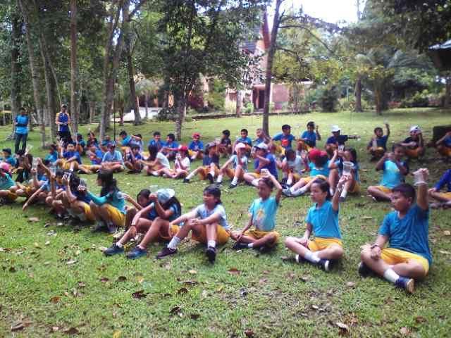 Serunya Oud Bound Kid's di Taman Wisata Lembah Hijau Lampung