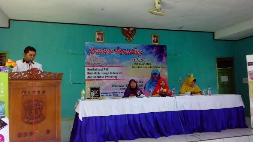 Seminar parenting dan revitalisasi rumah keluarga Indonesia oleh BPKK DPD PKS Kota Metro, Minggu, 13/3/2016. | Ist.