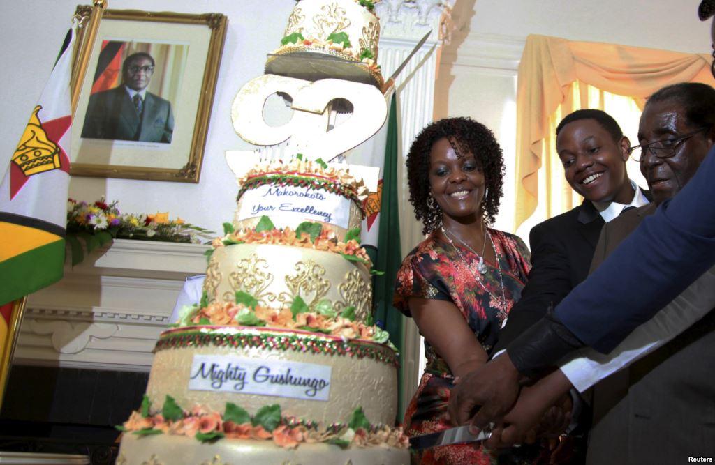 Rakyatnya Kelaparan, Presiden Zimbabwe Rayakan Pesta Ultah Rp 10 M