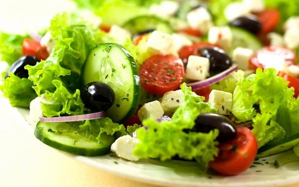 Salad menjadi salah satu jenis makanan yang cepat membuat Anda lapar. | Ist.