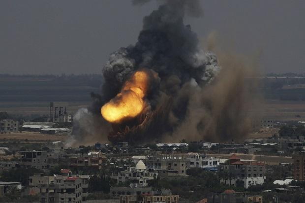 Pesawat Israel Gempur Gaza, Bocah 10 Tahun Tewas