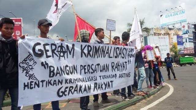 Tolak PP Nomor 78 Tahun 2015, Mahasiswa Lampung Gelar Unjuk Rasa