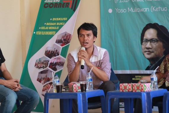 Ketua AJI Bandar Lampung Yoso Muliawan. | Ist