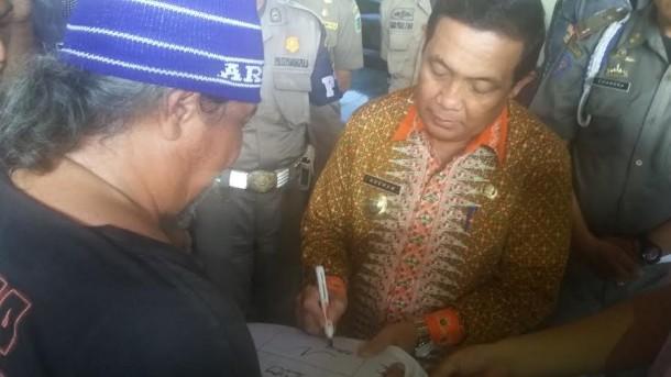 Indra Azwan Tiba di Lampung, Adeham Dukung Aksi Jalan Kaki Keliling Indonesia untuk Cari Keadilan