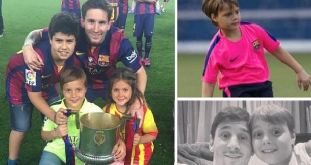 Hebatnya Keponakan Messi, Bikin Sensasi di Akademi Barca