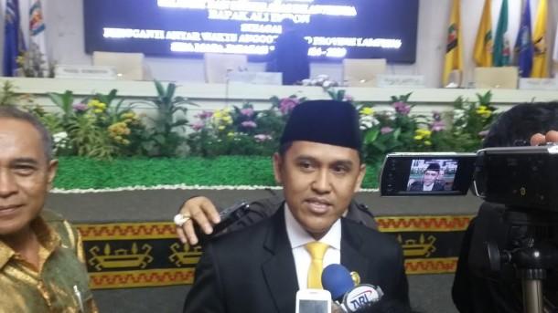 Ali Imron Dilantik Jadi Anggota DPRD Lampung