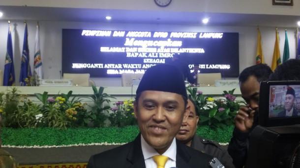 Ketua DPRD Lampung Harap Ali Imron Berikan Kontribusi
