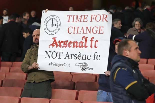 Pendukung Arsenal minta Wenger dipecat | ist