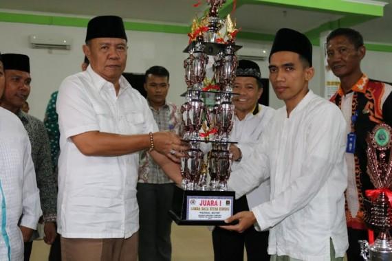 Wakil Gubernur Lampung Bachtiar Basri Apresiasi Lomba Baca Kitab Kuning PKS