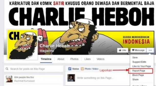 Majalah Charlie Heboh Lecehkan Islam, Polisi Belum Berkomentar