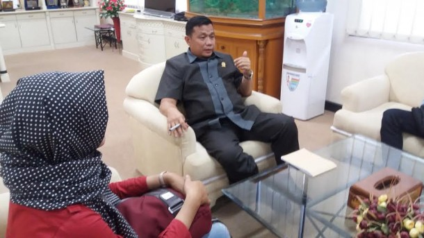 Ketua DPRD Lampung Dedi Afrizal | jejamo.com
