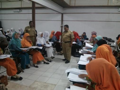Dikpora Lampung Timur Gelar Diklat Tenaga Pendidikan
