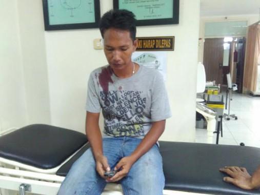 Asyik Ngobrol, Fatur Adhim Ditusuk Seorang Pria di Chandra Bandar Lampung