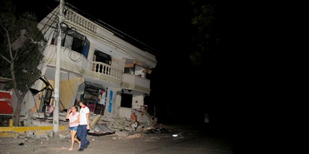 Gempa Ekuador