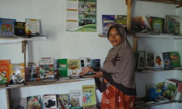 Griya Baca Komunitas Kampung Kidul Metro Juga Ajarkan Mengaji