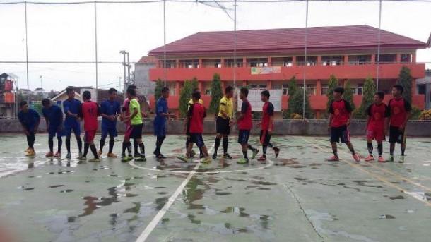 Pengurus Komisariat IMM STKIP Muhammadiyah Pringsewu menggelar Semarak IMM, salah satunya kompetisi futsal. | Ist