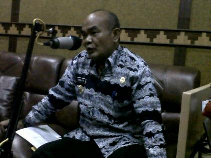 Bupati Lampung Tengah Mustafa Ambil Sumpah 1.689 Anggota Satgas Anti-Narkoba