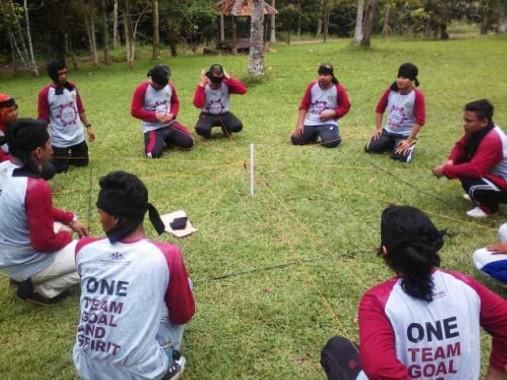 Kanwil Kemenag Lampung Outbound di Taman Wisata Lembah Hijau