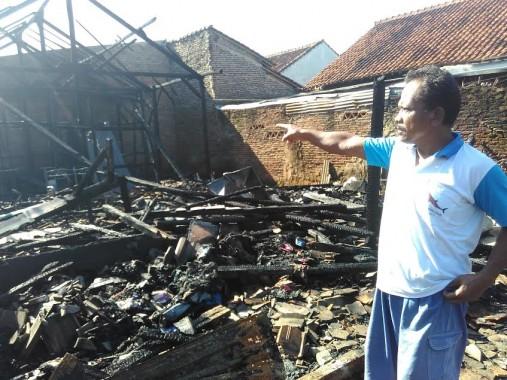 Kebakaran Pabrik Kripik Singkong di Sukarame Bandar Lampung, Rugikan Ratusan Juta