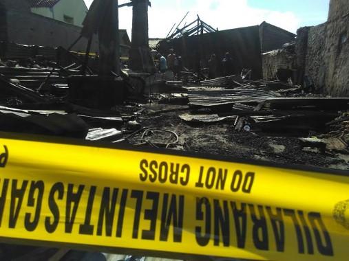 Breaking News: Pabrik Keripik Singkong di Sukarame Bandar Lampung Terbakar