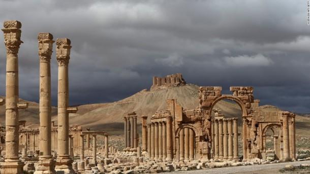 Kekejaman ISIS di Kota Kuno Palmyra Terungkap