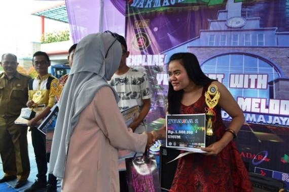 More Melisa Gitari dari SMAN 2 Bandar Lampung Juara Voice Festival