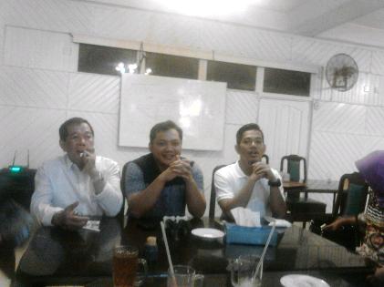 Konferensi pers DPW Nasdem Lampung | Sugiono/jejamo.com