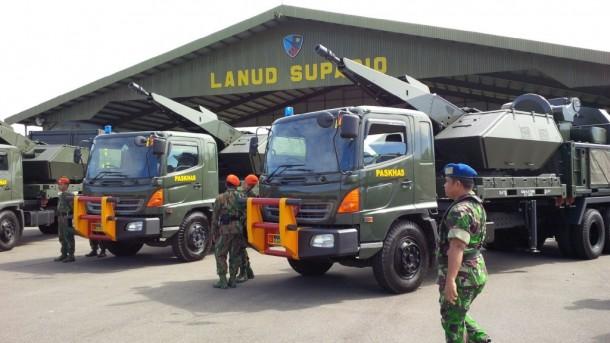 Indonesia Tempatkan Pertahanan Udara Oerlikon Skyshield di Pulau Natuna