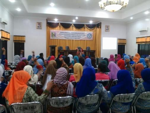 120 Guru PAUD Se-Lampung Timur Ikuti Pelatihan