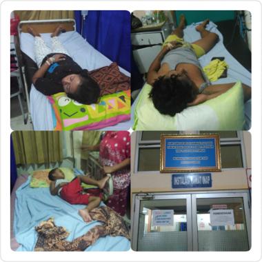 Waspada Malaria, Satu Keluarga Dirawat di RSUD Dadi Tjokrodipo Bandar Lampung
