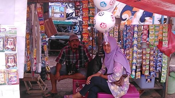 PKL Lapangan Samber Kota Metro Tolak Rencana Relokasi ke Pasar Tejoagung