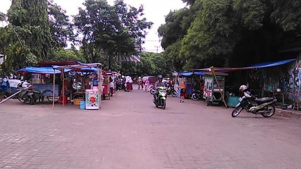 PKL di Lapangan Samber Metro akan Direlokasi ke Pasar Tejoagung