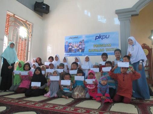 Keceriaan 30 Anak-anak Yatim Saat Disantuni PKPU Lampung