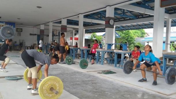 Hadapi Kejurnas Angkat Besi Satria Remaja di Bandung, Lampung Seleksi 15 Atlet Yunior
