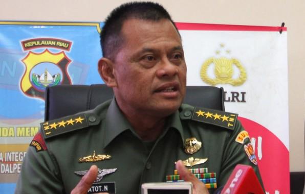 Besok Panglima TNI Gatot Nurmantyo ke Lampung, Simak Agendanya