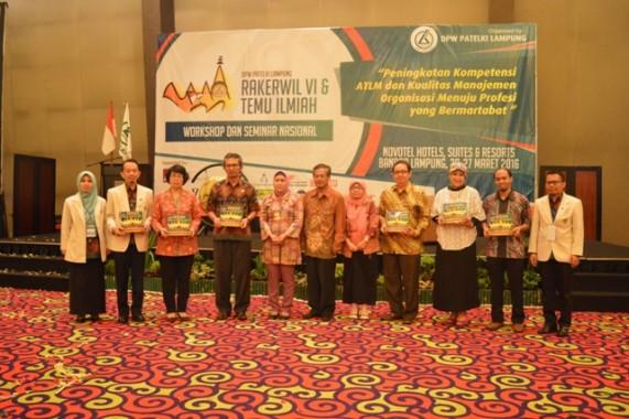 Rakerwil dan Temu Ilmiah Patelki di Hotel Novotel Lampung, akhir bulan lalu. | Ist