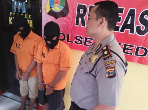 Pengedar Narkoba di Kedaton Ditangkap Polsekta Kedaton