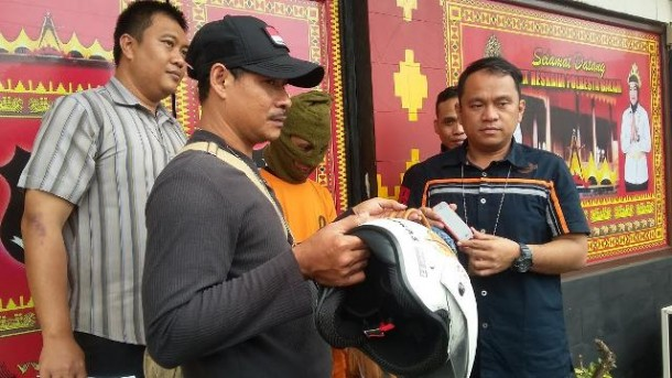 Tukang Ojek Plus Jambret di Bandar Lampung Ini Incar Ibu Bermotor Bawa Tas