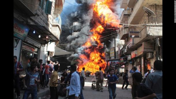 Milis ISIS Raih Kemenangan di Pusat Industri Suriah Timur