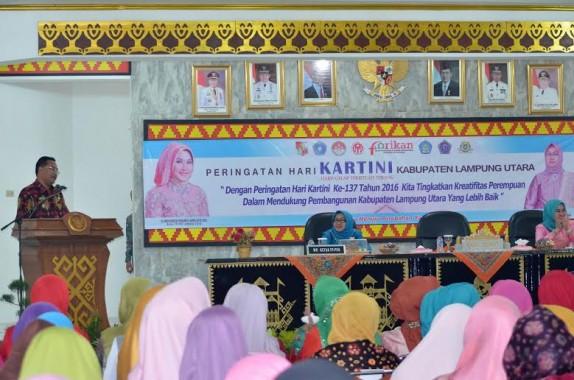Peringatan Hari Kartini Lampung Utara