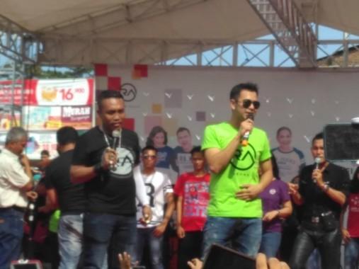 Raffi Ahmad di Bandar Lampung